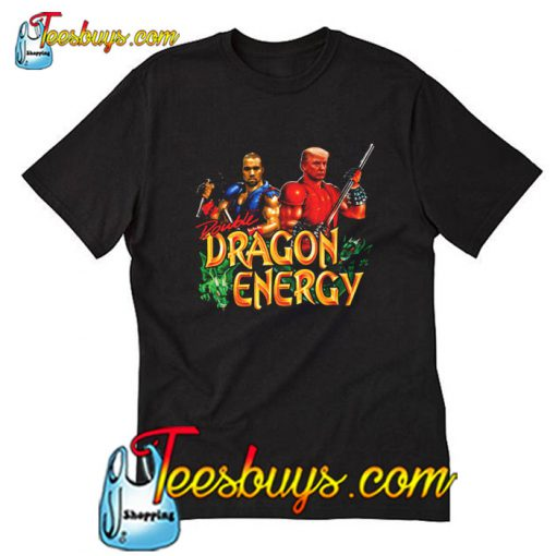 Kanye West and Donald Trump Double Dragon Energy T-Shirt