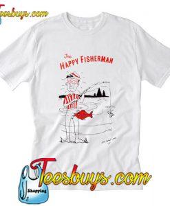 Less Than Local Happy Fisherman T-Shirt