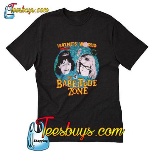 Wayne's World The Babeitude Zone T-Shirt