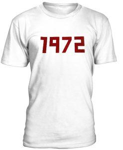 1972 Slogan T shirt