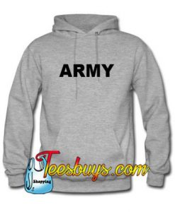 Army Font Hoodie