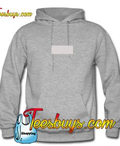 Grey Rectangle Hoodie