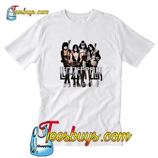 KISS Led Zeppelin Parody T-Shirt