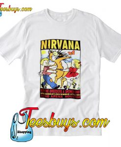 Nirvana Kurt Cobain concert T-Shirt