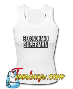 Secondhand Superman Tank Top