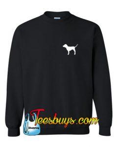 Victoria's secret dog Logo Sweatshirt