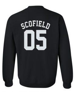 scofield 05 sweatshirt back