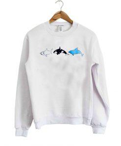 see shark dolphin sweatshirt