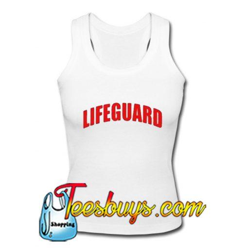 Lifeguard Tank Top