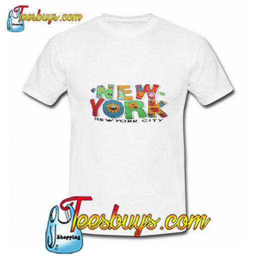New York New York City T Shirt