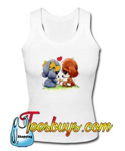 Sad Sam and Honey Dog Tank Top