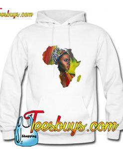 African Woman Hoodie