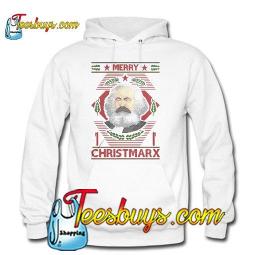 Karl Marx Merry Christmarx Hoodie