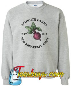 Schrute Farms Est 1812 Bed Breakfast Birteets Sweatshirt