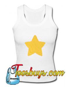 Star Yellow Tank Top
