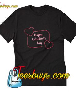 Happy Valentine's day T-Shirt pj