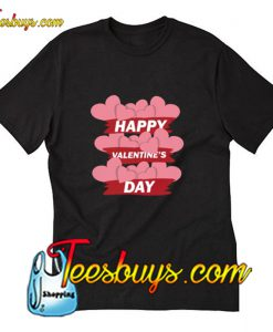 Happy Valentine's day heart T-Shirt Pj