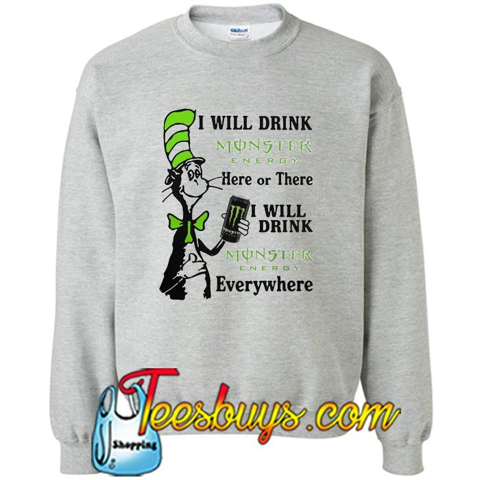 Monster Energy Sweatshirt Energy Etfs