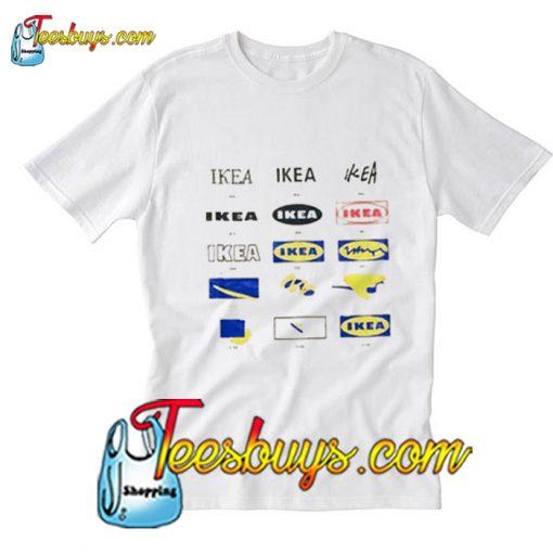 Ikea Logo T Shir Pj