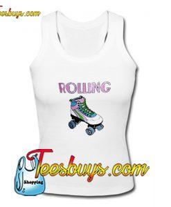 Rolling Roller Skates Tank Top Pj