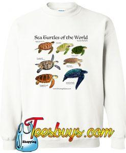 Sea Turtles Of The World Sweatshirt