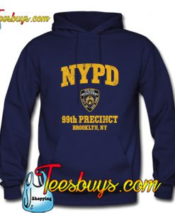 99th Precinct Brooklyn NY Hoodie Pj