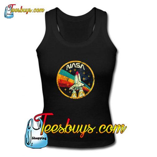 USA Space Agency Vintage Colors V03 Tank Top Pj
