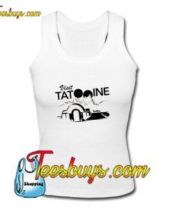 Visit Tatooine Women's Racerback Tank Top Pj