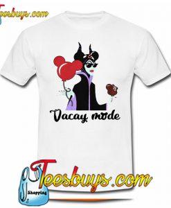 Maleficent Disney Vacay mode T Shirt Ez025