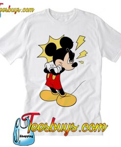 Mickey's looking for trouble T Shirt Ez025
