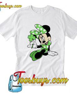 Minnie Mouse Patrick's Day T Shirt Ez025