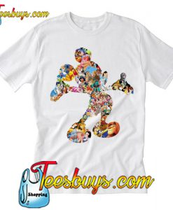 The 90s Life on Mickey Mouce T Shirt Ez025