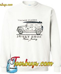 Vintage Classic Jersey Sweatshirt Pj