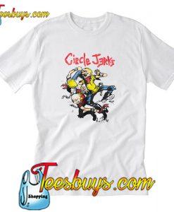 Circle Jerks Thrashers T Shirt-SL