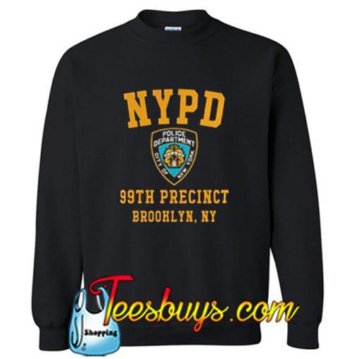 NYPD Brooklyn Nine Nine Sweatshirt-SL