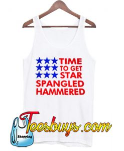 time to get star spangled hammered tanktop NT