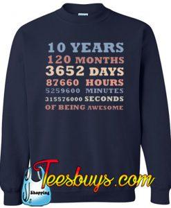 120 Months Sweatshirt NT