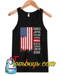 American Flag Tank Top NT