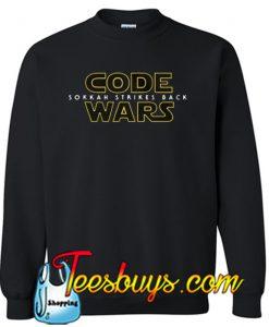 Code Wars- Sokkah Strikes Back Sweatshirt NT