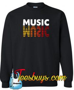 Music Audio Sweatshirt NT