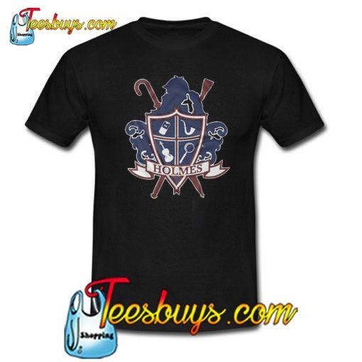 Sherlock Holmes Graphic Trending T-Shirt NT