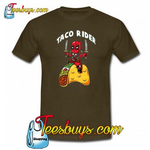 Taco Rider Trending T Shirt NT