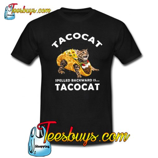 Tacocat Spelled Backward's Tacocat Trending T Shirt NT