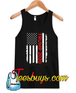 Trump 2020 American Flag Tank Top NT