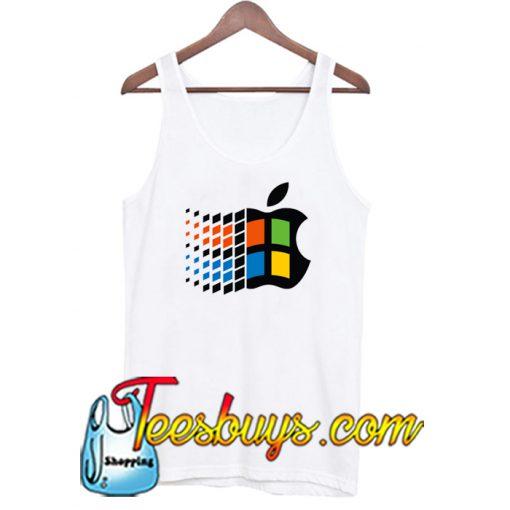 Win App logo Tank Top NT