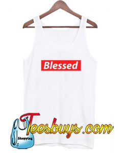 Blessed Red Box TANK TOP SR