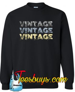 Vintage Color SWEATSHIRT SR