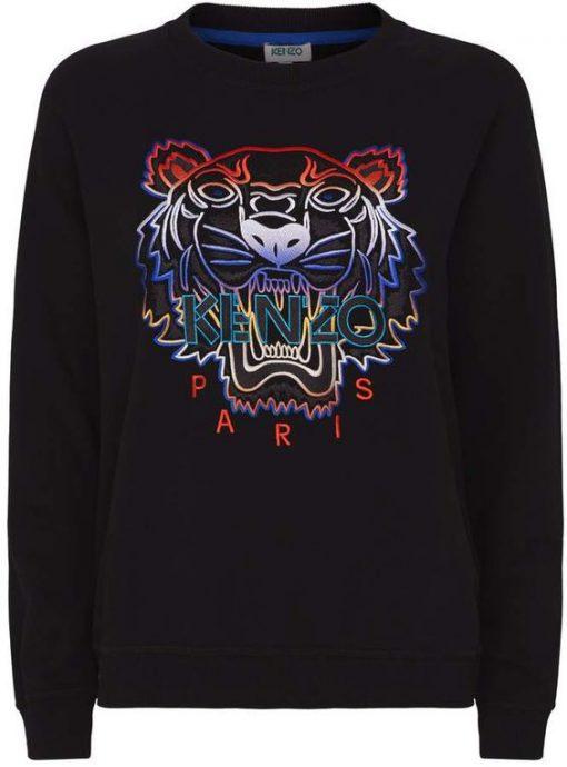 Kenzo Ombre Icon Tiger Sweatshirt NT