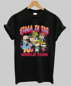 Rugrats World Tour Graphic T-Shirt SN