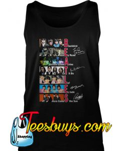 Beatles Blackbird Abbey Road Yellow Submarine Let It Be Signature Tank Top -SL